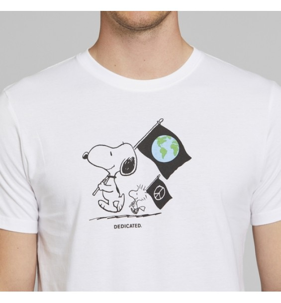 T- Shirt Stockholm Snoopy Flags S1