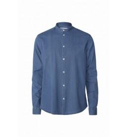 Lee Chambray Mandarin Shirt S1