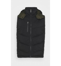 Quilted hooded bodywarmer H1
