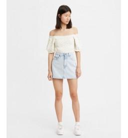 Womens 70s High Mini Skirt H1