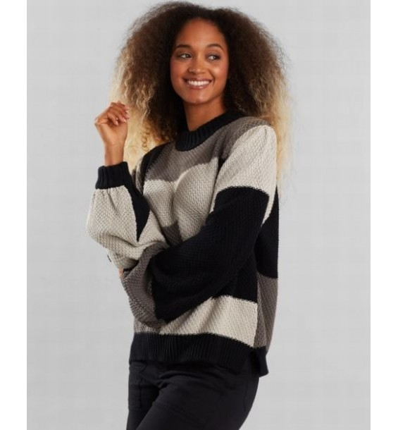 Sweater Knitted Rutbo Grey H1